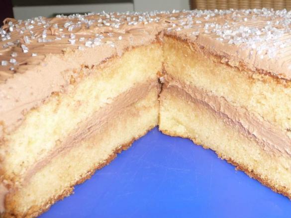 Yogurette Torte Mit Vanilleboden Von Jagga Ein Thermomix Rezept