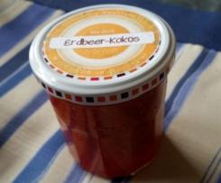 Erdbeer-Kokos-Marmelade