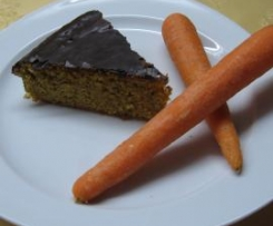 """Vegane Variation von Möhrenkuchen """"Rübli"""" Vollwert"""