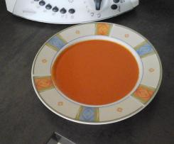 Variation Tomatencremesuppe