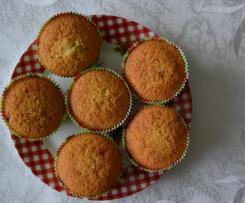 Leckere Muffins mit Schokostückchen