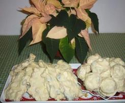 Advent Schokolade mit Cranberry und Cashewnüsse