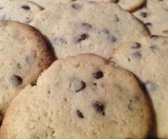 Vanille-Cookies mit Schokostückchen