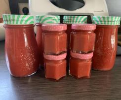 Erdbeer  Kokos  Marmelade