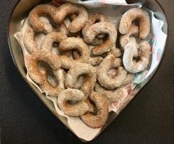 Vanillekipferl Dinkel-Vollkorn - kalorienreduziert