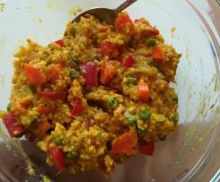 Quinoa-Hirse-Pfanne