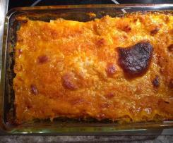 Lasagne mit Hokkoaidokürbisfüllung vegan