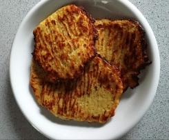 Kartoffelpuffer / Reibekuchen vom Blech,  Rezept des Tages 21.01.2017