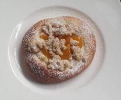 Steffis Pudding -Streuseltaler mit Aprikosen