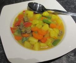 Rinder-Gemüse-Curry