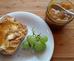 Rhabarber - Orangen - Konfitüre ; Marmelade