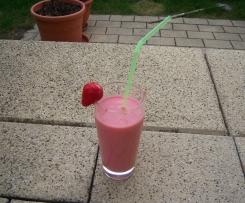 Erdbeer-Bananen-Smoothie
