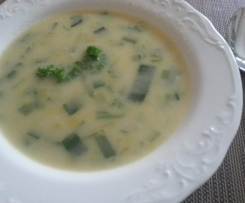 Porreesuppe