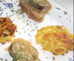Variation von Kartoffel-Kürbis-Plätzchen ..von Marion Wietler..