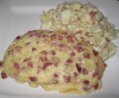 Winzerbrote mit Weißkohlsalat