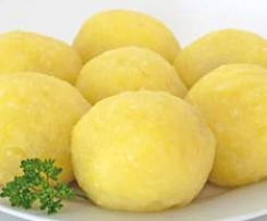 Variation von Kartoffelknödel