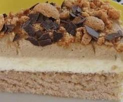 Cafe´ - au - lait - Torte