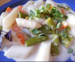Spargel-Gemüse-Ragout