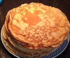 Lieblings-Pfannkuchen mit Dinkel