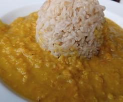 Dal - indisches Linsengericht - vegan