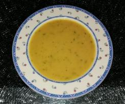 Kichererbsen Karotten Suppe