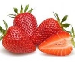 Erdbeer weiße Schockolade Likör
