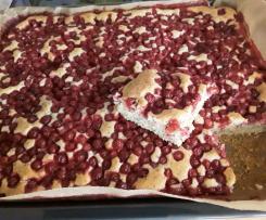 Johannisbeer-Mohn-Kuchen