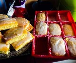 ultimativer Zitronenkuchen für die 9er Silikonform von Tchibo