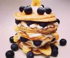 Dinkel Vollkorn Pancakes Vegan