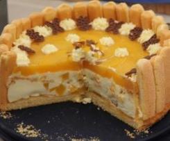 Pfirsich- Joghurt- Torte