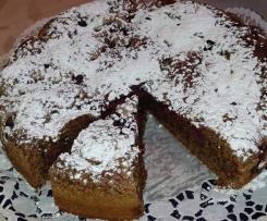 Schwarzer Kirschkuchen Ruck-Zuck