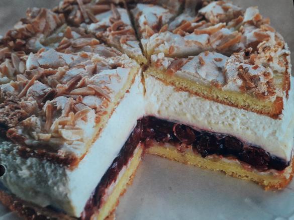 Kirsch Vanille Torte Von Ninifee Ein Thermomix Rezept Aus Der