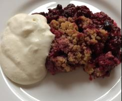 Weihnachts-Crumble