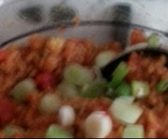 Bulgur-Linsen-Salat aus Finessen Rezeptheft 3/2014