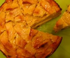 Apfel-Quark-Kuchen 20cm Form für Verliebte