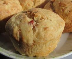 Hefe-Schinken-Muffins