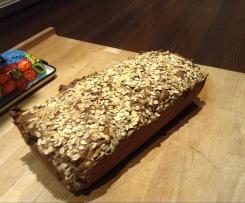 Sechskornflocken-Brot mit Flensburger Malzbier