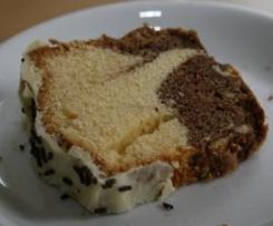 Marmorkuchen mit Nutella und Eierlikör