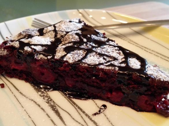 Blitz Schokoladenkuchen Mit Kirschen Vegan Von Mary2208 Ein