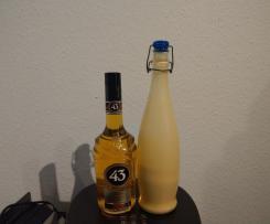 Orangen-Eierlikör mit Likör 43