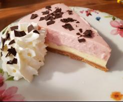Erdbeer-Mango-Cheesecake