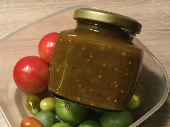 Gewinner Rezept Chutney aus grünen, unreifen Tomaten