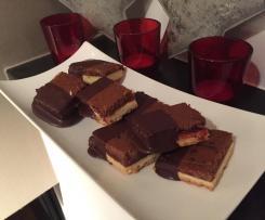 Mandel-Schoko–Würfel Weihnachtsplätzchen