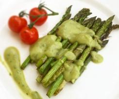 Avocado Basilikum Hollandaise - Vegan, Gesund und ohne Cholesterin