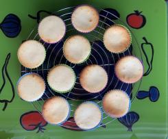 Käsekuchen - Muffins mit Mandarinen oder anderen Früchten