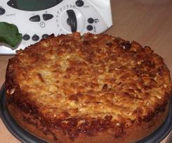 Florentiner Apfelkuchen
