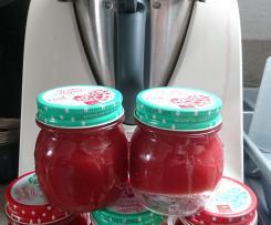 Erdbeer-Mango-Ananas+Berentzen-Marmelade