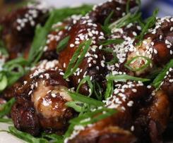 Chicken Teriyaki mit Reis