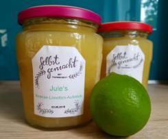 Ananas-Limetten-Aufstrich