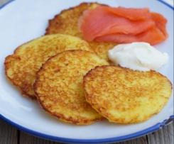 Vegane Kartoffelpuffer / Reibekuchen